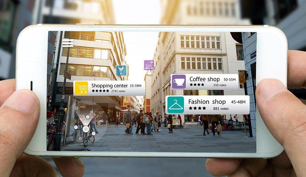 xu hướng Tương tác thực tế – Augmented Reality ( AR)