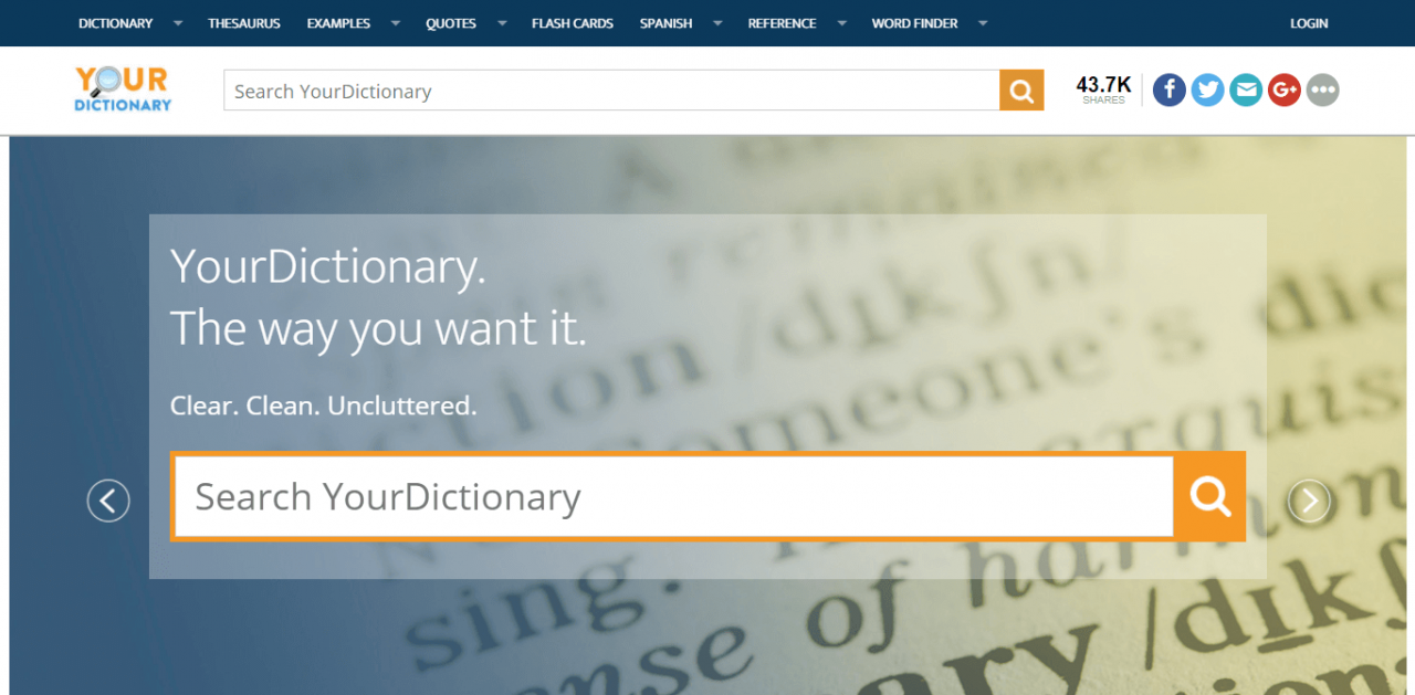 Your Dictionary