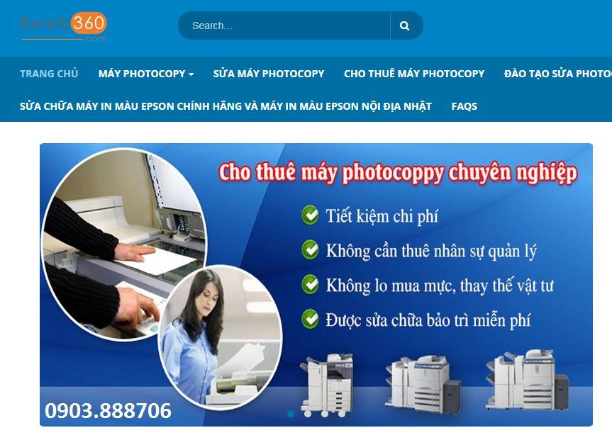Công ty cho thuê máy photocopy Hoàng Nguyên