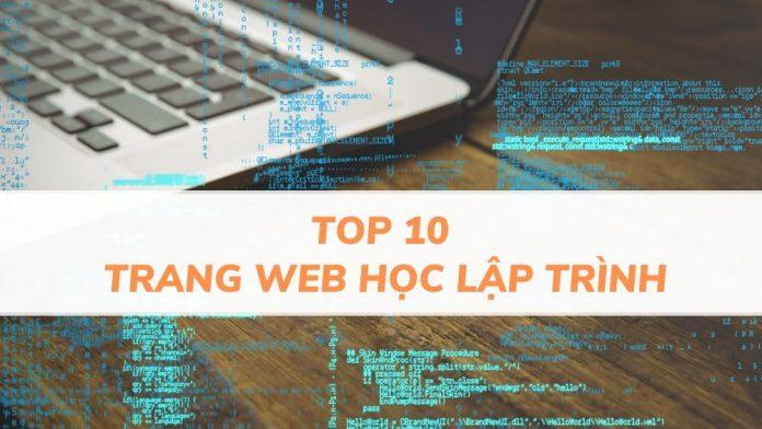 Top 10 trang web học lập trình Online