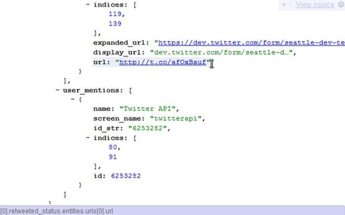 Chrome Extension JSONView
