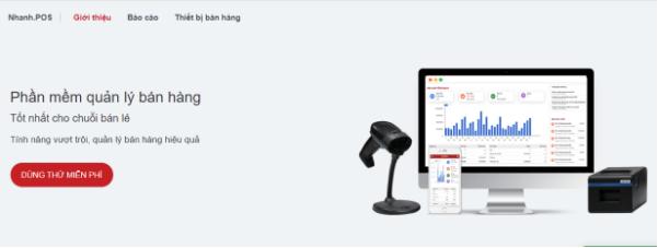 Phần mềm bán hàng của Nhanh.