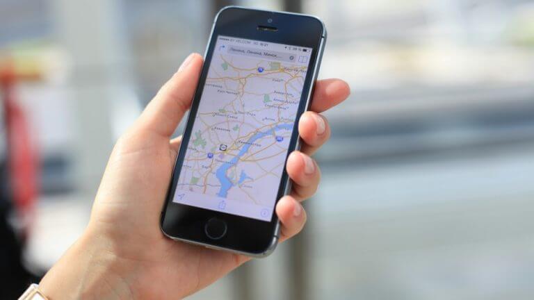 Đánh giá 5 sao trên google map trên thiết bị di động