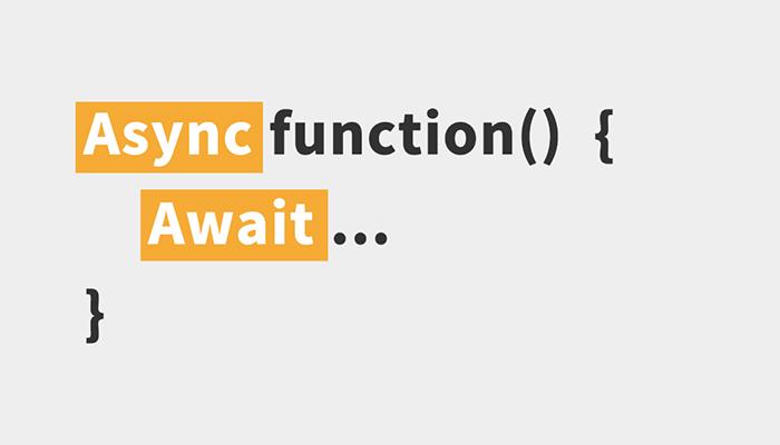 Async/Await là biện pháp khá toàn diện đến từ JS