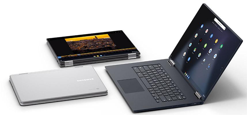 Lựa chọn màn hình của Chromebook khá hạn chế