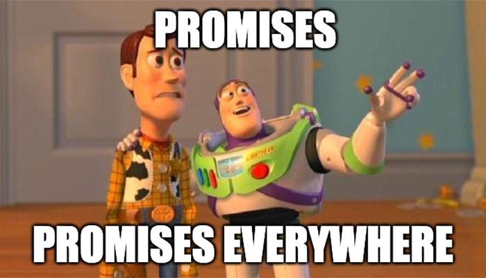 Promises được cộng đồng lập trình chào đón nhiệt liệt