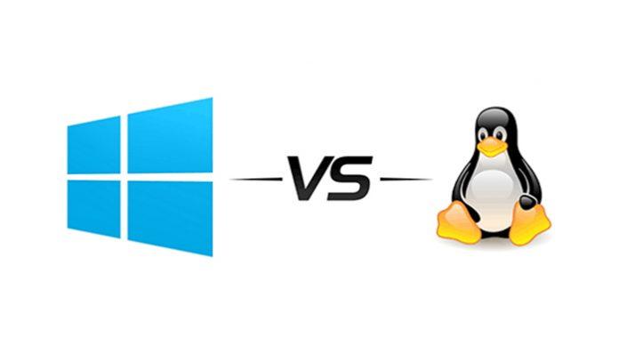 Linux và Windows có rất nhiều sự khác biệt
