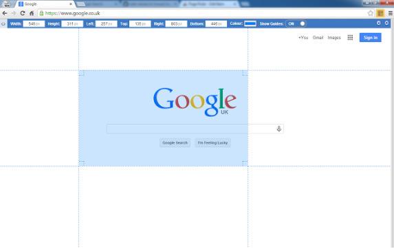 Frontend Developer Extension Page Ruler