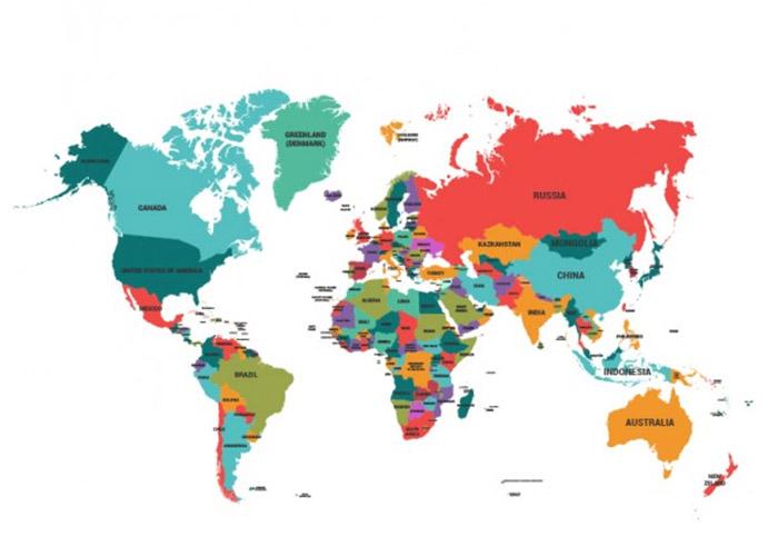 Bản đồ phù hợp với các chiến lược truyền thông hoặc so sánh thị trường