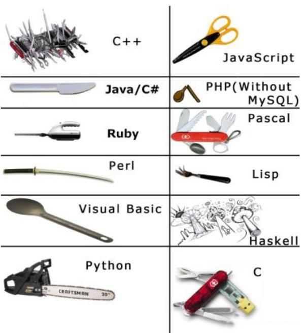 Ngôn ngữ lập trình chỉ là công cụ, kiến thức và kĩ năng sẽ quyết định tất cả
