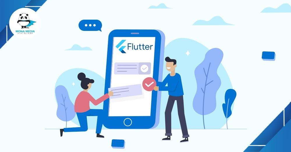Flutter là một UI Framework thân thiện với Start-up