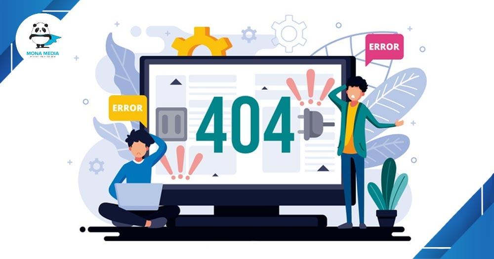lỗi lập trình Lỗi 404 Not Found phổ biến