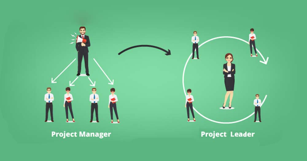 So sánh sự khác biệt giữa Project Manager và Project Leader