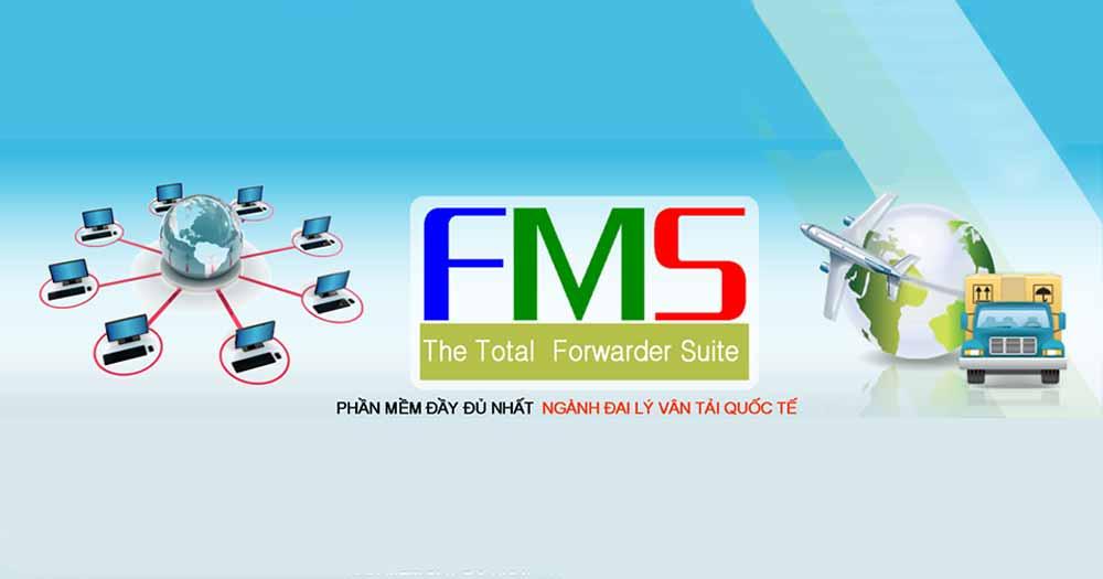 Phần mềm đại lý vận tải quốc tế FMS