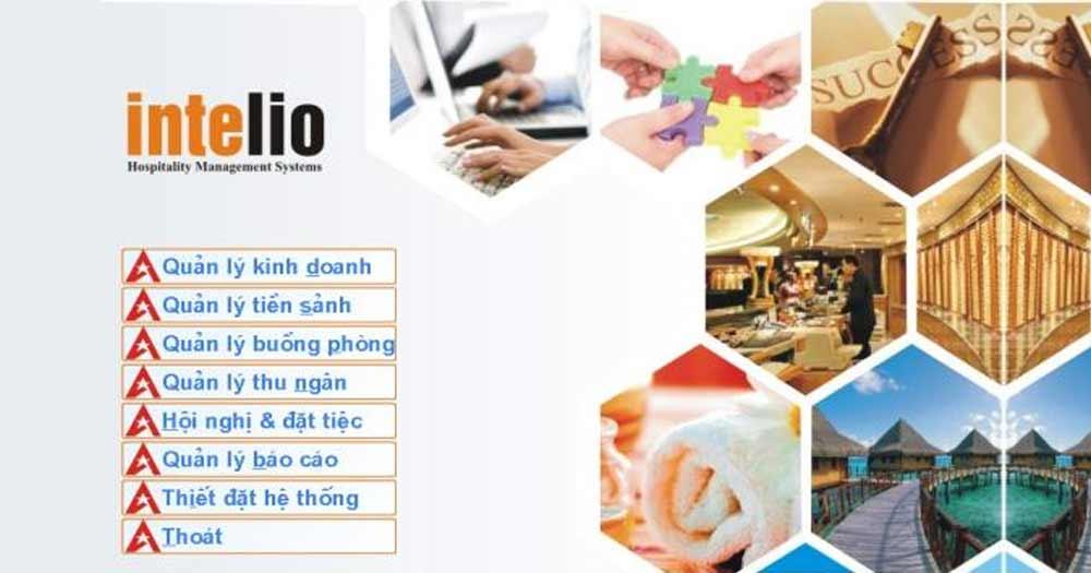 Phần mềm khách sạn Intelio