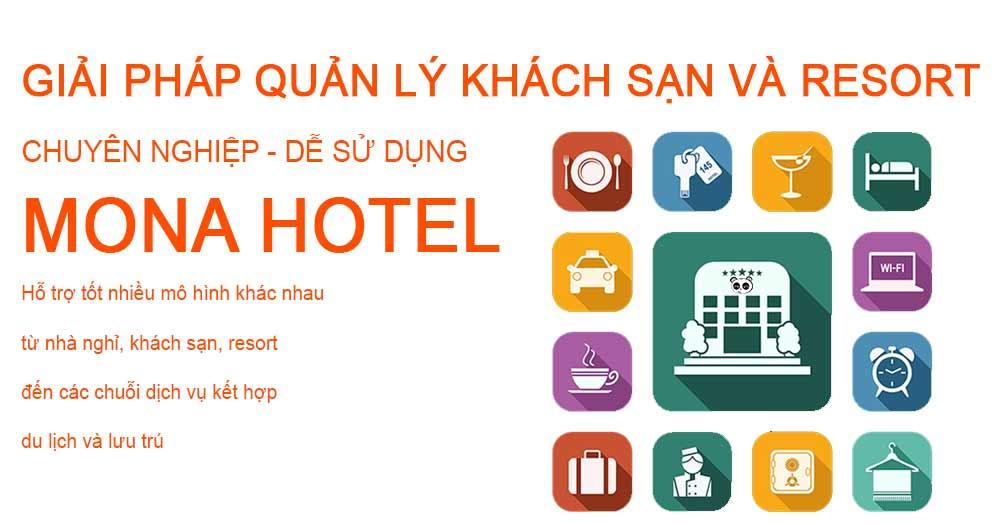 Phần mềm quản lý khách sạn Mona Hotel