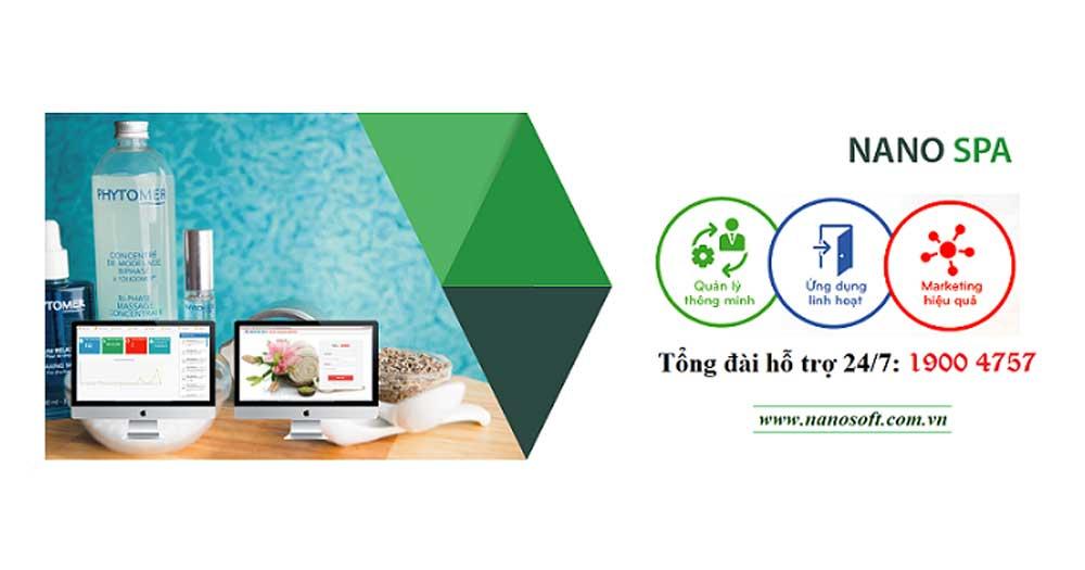 Phần mềm quản lý và chăm sóc khách hàng Nano Spa