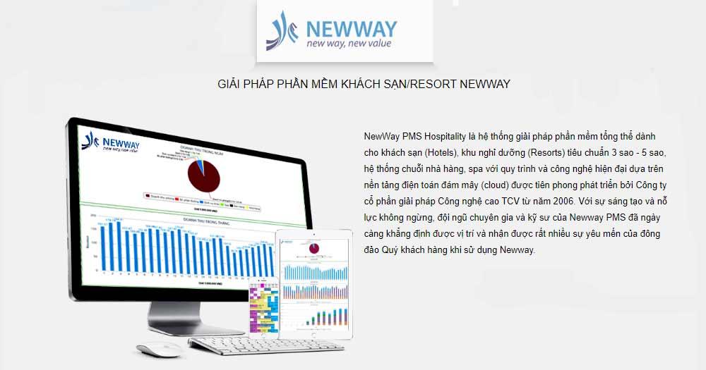 Giải pháp phần mềm/khách sạn NewWay