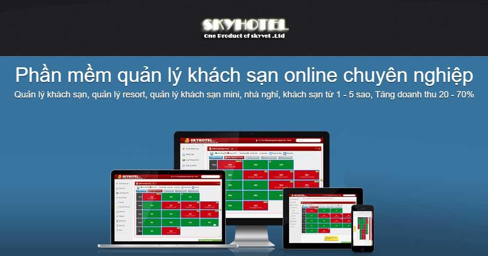 Phần mềm quản lý khách sạn Sky Hotel