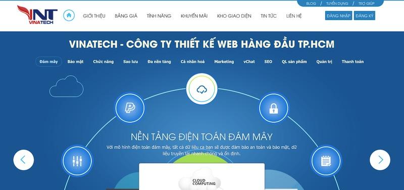 Công ty thiết kế web Vũng Tàu Vinatech