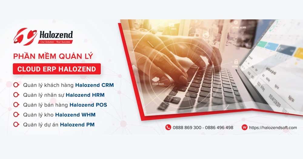 Halozend CRM là phần mềm quản lý đa năng