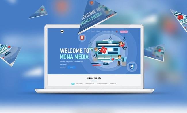 Phần mềm CRM được thiết kế bởi Mona Media