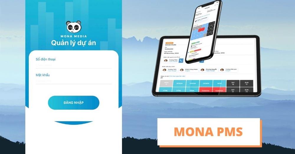 Mona PMS- Phần mềm quản lý nhân sự kết hợp công việc