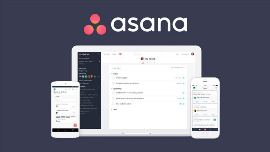Phần mềm quản lý công việc Asana