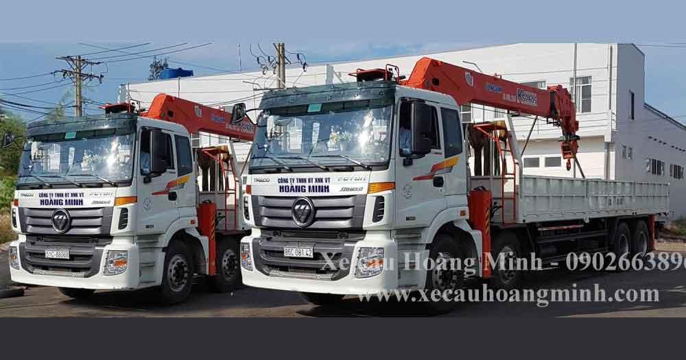 Công ty Vận tải Hoàng Minh- Vận chuyển hàng hóa đường bộ