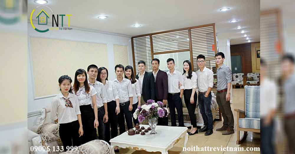 Đội ngũ nhân viên Nội Thất Trẻ Việt Nam