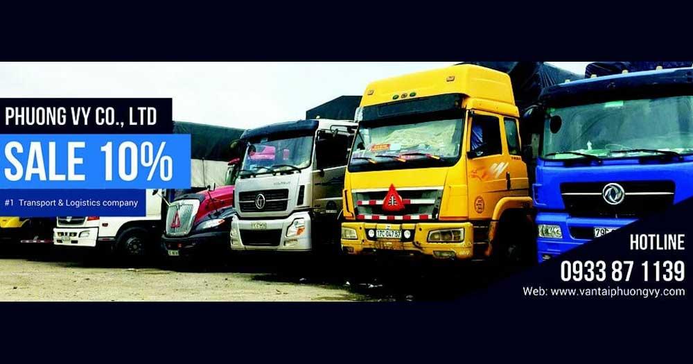 Phương Vy- Công ty dịch vụ vận tải Phương Vy
