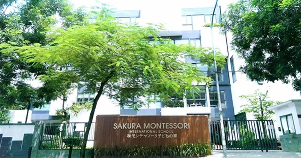 Trường Mầm Non Song Ngữ Quốc Tế Sakura Montessori