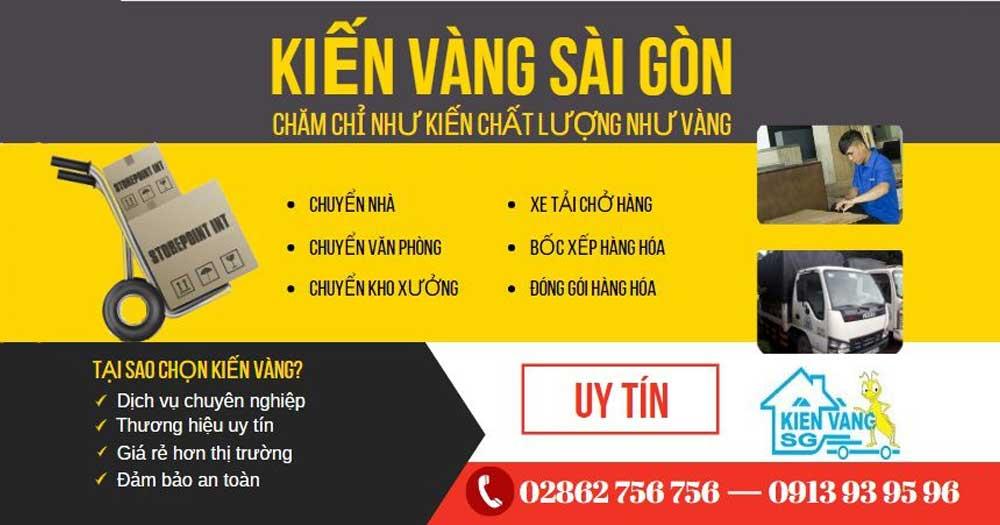 Kiến Vàng Sài Gòn- Dịch Vụ Chuyển Nhà Uy Tín Chuyên Nghiệp