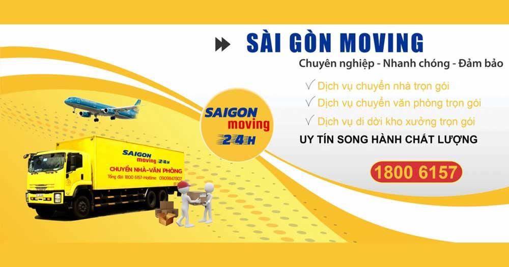 Dịch Vụ Chuyển Nhà Sài Gòn Moving 24h