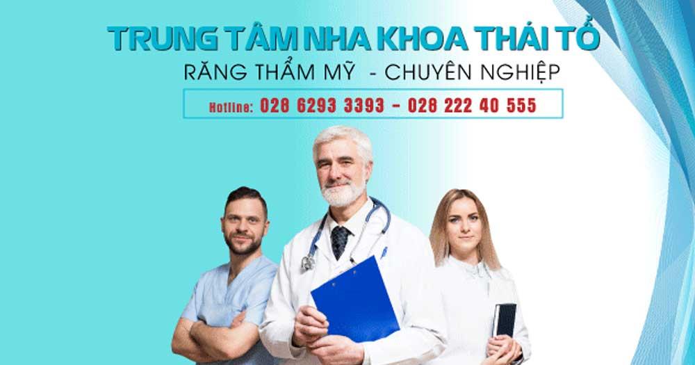 Nha Khoa Thái Tổ- Trung tâm răng thẩm mỹ chuyên nghiệp