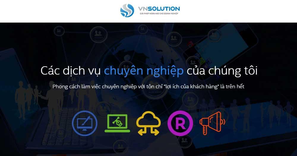 Phần mềm quản lý sản xuất VNSolution