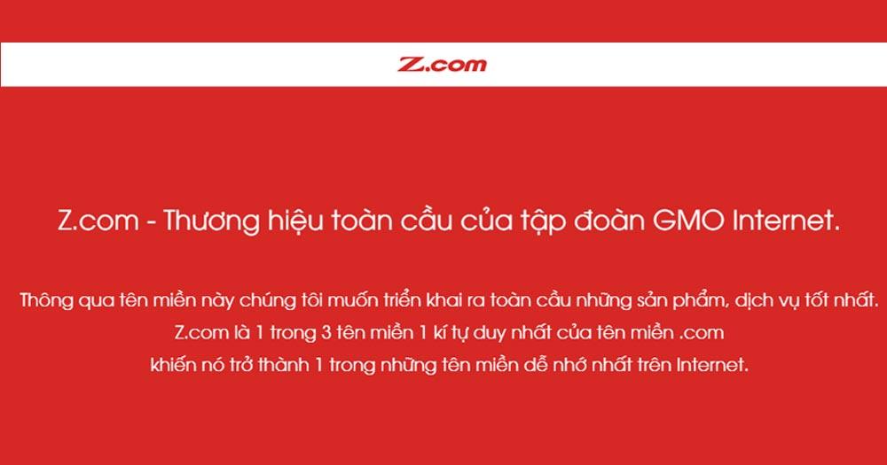 Z.com- cung cấp Web Hosting