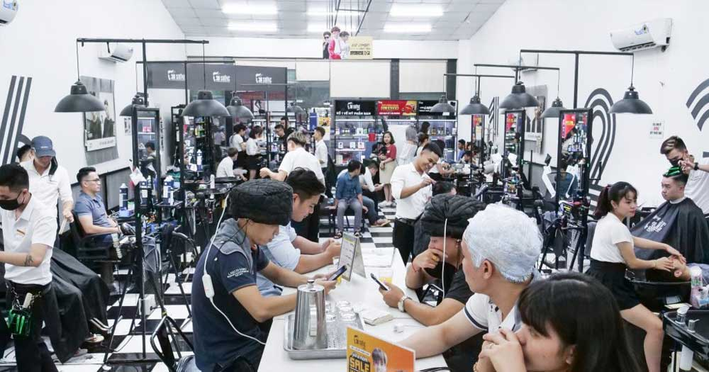 30Shine- Hệ thống tiệm cắt tóc hiện đại