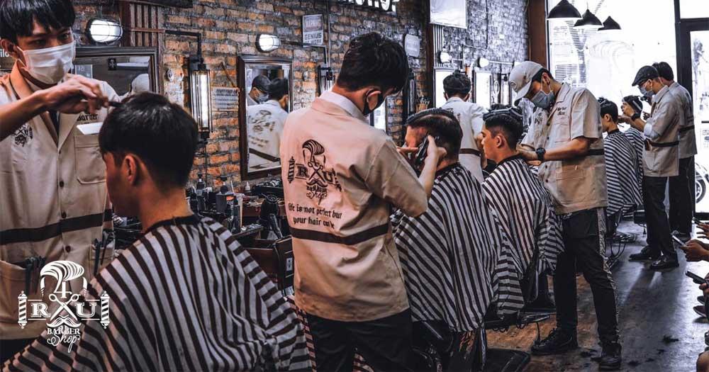 Tiệm 4RAU Barber Shop- Tiệm cắt tóc đẹp ở Sài Gòn