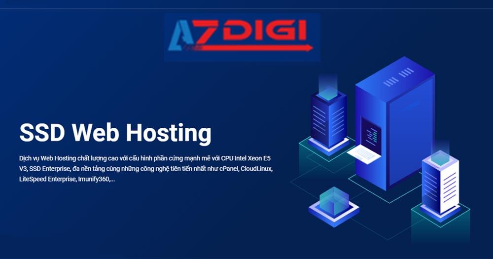 AZDIGI- SSD Hosting giá rẻ chất lượng cao, LiteSpeed và Memcached