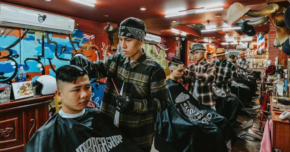 Liêm Barber- Tiệm hớt tóc nam đẹp và chuyên nghiệp