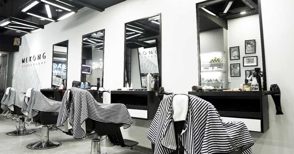 Mekong Barbershop- Tiệm cắt tóc nam đẹp TP HCM