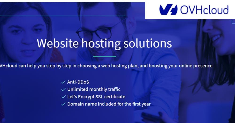 OVH- Web Hosting, Điện toán đám mây và cho thuê Server