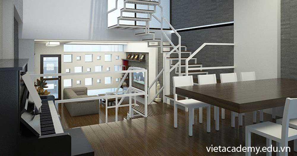 Vietacademy- Khóa học thiết kế nội thất chuyên nghiệp TP HCM