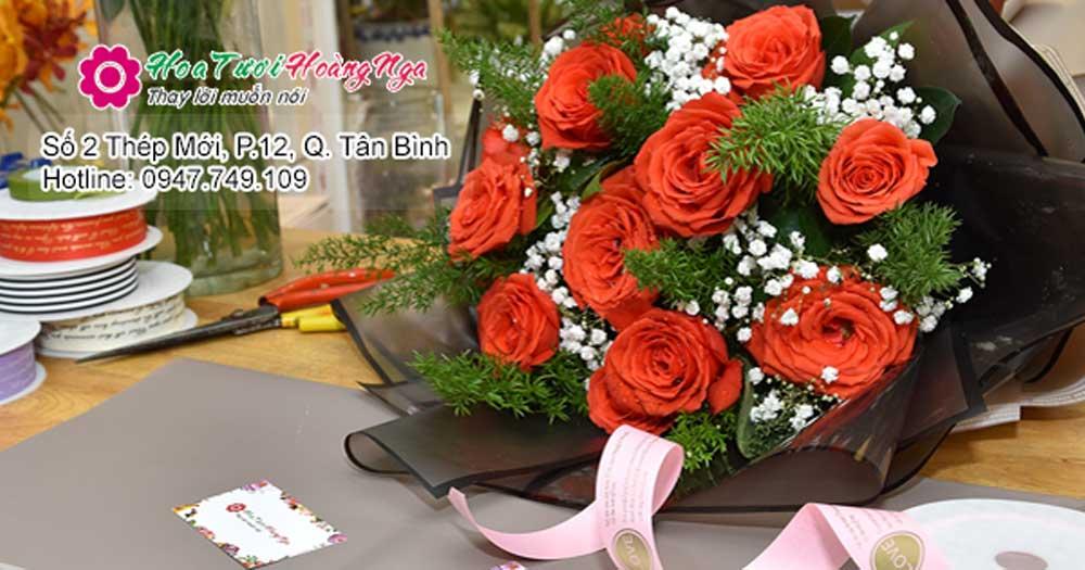 Hoa tươi Hoàng Nga- Shop hoa tươi online TP HCM