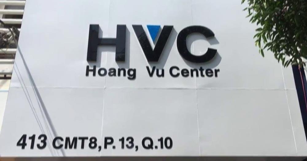 Hoàng Vũ Center- Đơn vị sửa chữa máy tính