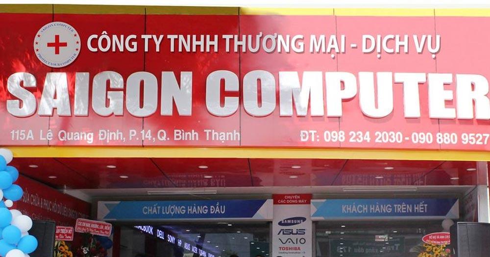 Sài Gòn Computer- Dịch vụ sửa chữa máy tính chất lượng