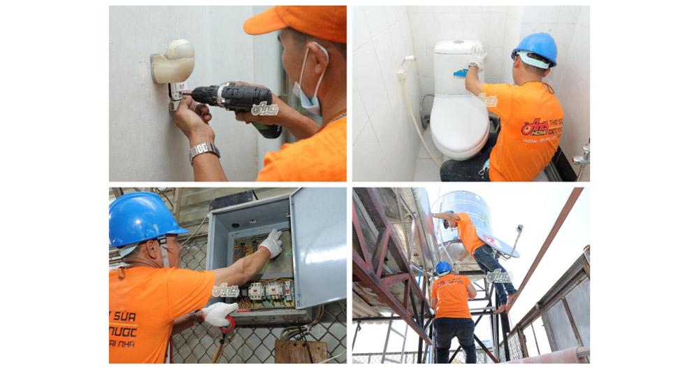 Antshome- Dịch vụ kỹ thuật điện nước