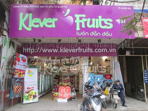 cua hang trai cay Klever Fruits