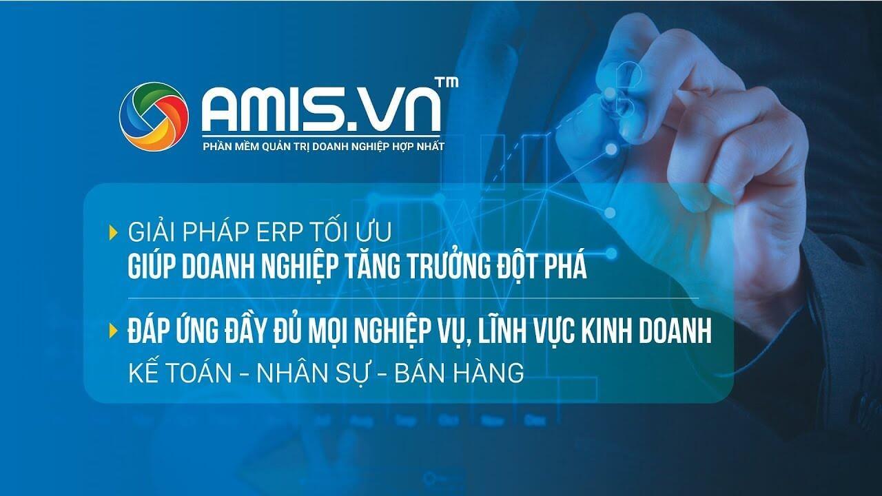 Phần mềm quản lý doanh nghiệp Amis
